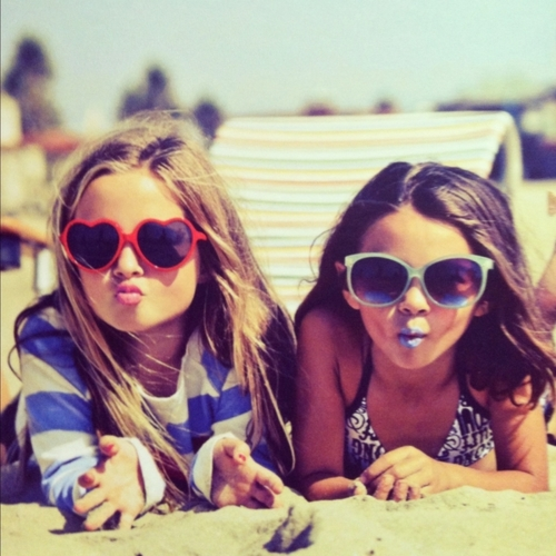 Cute Girls in Sunglasses
